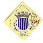 Sellos de Africa - Angola -  Escudo de ciudad. Enrique de Carvalho.