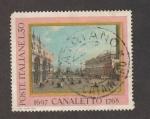 Sellos de Europa - Italia -  Pintor Canaletto