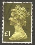 Sellos de Europa - Reino Unido -  822 - Elizabeth II