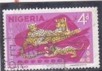 Stamps : Africa : Nigeria :  PANTERAS