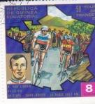 Sellos de Africa - Guinea Ecuatorial -  59º TOUR DE FRANCE 72