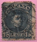 Stamps of the world : Spain :  Alfonso XIII