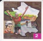 Stamps Equatorial Guinea -  59º TOUR DE FRANCE 72