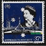 Sellos de Oceania - Australia -  Emisión conjunta Australia y Reino Unido