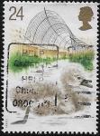 Sellos del Mundo : Europa : Reino_Unido : Cría de cisnes