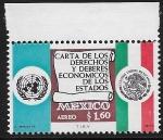 Sellos del Mundo : America : México : Carta de los Deberes y Derechos Económicos de los Estados