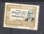 Sellos de America - Colombia -  RESERVADO Alberto Castilla