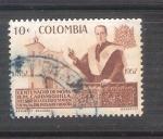 Sellos de America - Colombia -  RESERVADO Monasterio Carrasquilla