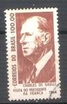 Sellos del Mundo : America : Brasil : RESERVADO Charles de la Gaulle