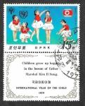 Sellos de Asia - Corea del norte -  1776 - Año Internacional del Niño