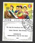 Sellos de Asia - Corea del norte -  1778 - Año Internacional del Niño