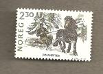 Sellos del Mundo : Europa : Noruega : Cria de caballos