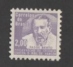 Stamps Brazil -  Padre Bento, protector de la infancia contra la lepra