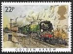 Stamps United Kingdom -  1169 - Tren Golden Arrow