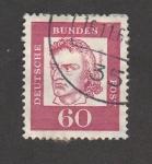 Stamps Germany -  Schiller