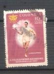 Sellos de America - Colombia -  RESERVADO Llama olimpica