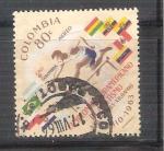 Sellos de America - Colombia -  RESERVADO atletismo