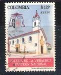 Sellos de America - Colombia -  RESERVADO iglesia de la Veracruz