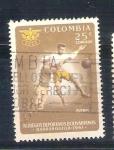 Sellos de America - Colombia -  RESERVADO fútbol