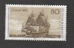 Stamps Germany -  Navío concorde 1683