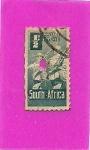 Sellos de Africa - Sudáfrica -  Soldados
