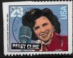 Sellos del Mundo : America : Estados_Unidos : Patsy Cline, cantante de country