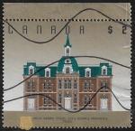 Sellos de America - Canadá -  Escuela Normal Provincial, Truro