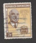 Sellos de America - Rep Dominicana -  XXV aniv. de habersele otorgado titulo de benefactor al generalísimo Trujillo