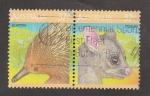 Sellos de Oceania - Australia -  Echidna