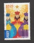 Stamps Australia -  Reyes magos