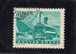 Sellos de Europa - Hungría -  Autobus