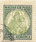 Sellos de Europa - Hungría -  PATRONA HUNGARIAE