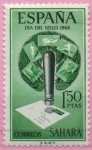 """Stamps of the world : Spain :  Dia dl´Sello """" Matasellos"""""""