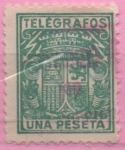 Stamps of the world : Spain :  Escudo
