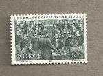 Sellos del Mundo : Europa : Noruega : 150 años Leyes consejos locales