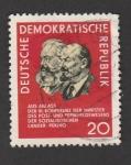 Sellos de Europa - Alemania -  VI Conferencia de los ministros de correos de los paises socialistas en Peking