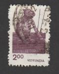 Sellos de Asia - India -  Agricultor