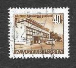 Stamps Hungary -  964 - Terminal de Autobuses Suburbanos