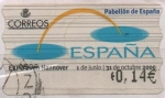 Stamps of the world : Spain :  Expo 2000 Hannover
