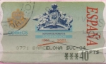 Stamps of the world : Spain :  Bicent. Alejandro Mon