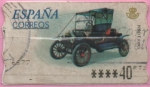 """Stamps of the world : Spain :  Coches """" Fort T"""