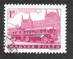 Stamps of the world : Hungary :  1515 - Tranvía