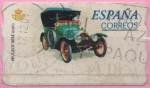 """Stamps of the world : Spain :  Coches """" Peugeot Bebe """""""