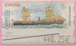 """Stamps of the world : Spain :  Barcos """" M. Pinillos """""""