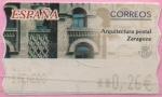 "Stamps of the world : Spain :  Arquitestura Postal "" Zaragoza """