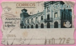"Stamps of the world : Spain :  Arquitestura Postal "" Logroño"