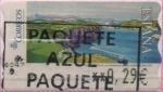 "Stamps : Europe : Spain :  Pinturas "" Ballenas d´Piedra"""