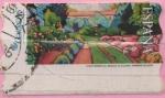 "Stamps : Europe : Spain :  Pinturas "" Mañanas en el Jardin """