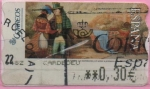"Stamps : Europe : Spain :  Pinturas "" Amor a primera Vista """