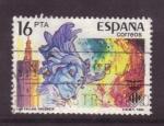Stamps Spain -  Grandes fiestas populares en España